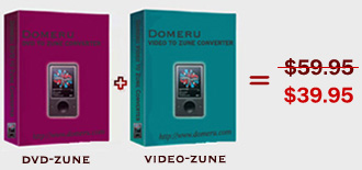 Domeru DVD to Zune Converter + Video screenshot
