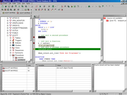 AlligatorSQL screenshot