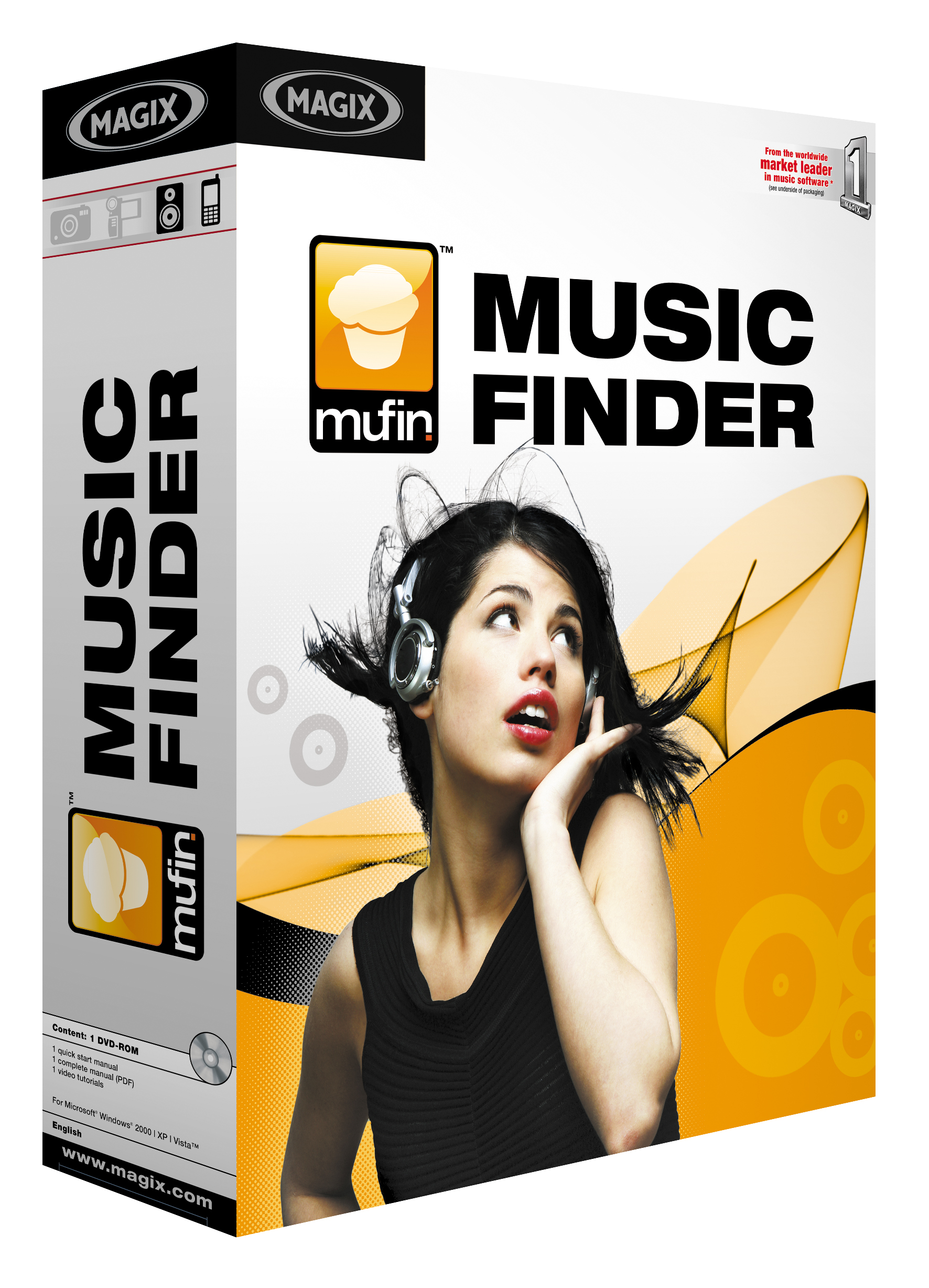 Mufin MusicFinder screenshot