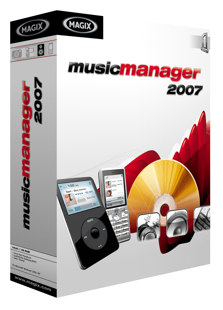 MAGIX Music Manager 2007 screenshot