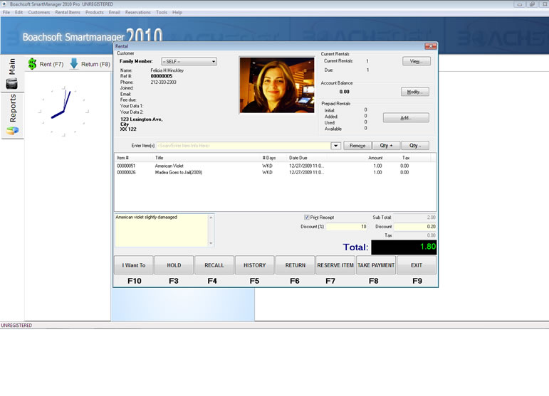 Boachsoft SmartManager screenshot
