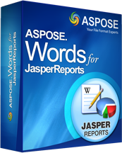 Aspose.Words for JasperReports screenshot