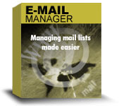 Email Manager Software screenshot