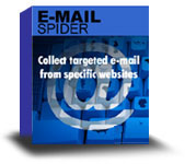 Emailsmartz Email Spider screenshot